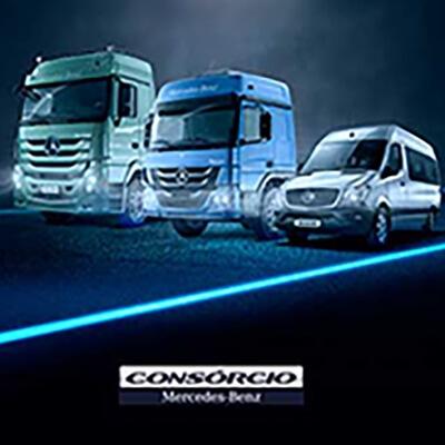 Consórcio Mercedes-Benz Rio Diesel Rio de Janeiro RJ Caminhões Vans Ônibus