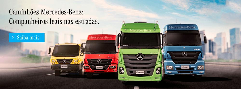 Financie seu Caminhão Mercedes-Benz hoje