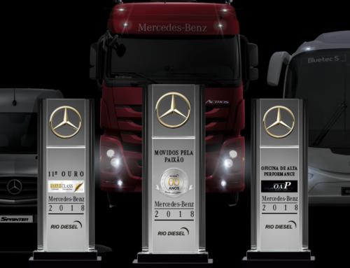 Rio Diesel realiza comemoração aos 60 anos como concessionário Mercedes-Benz